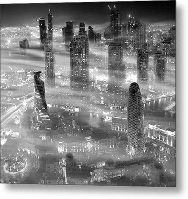 Misty Metal Print by Koji Tajima