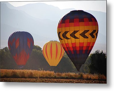 Misty Landings Metal Print