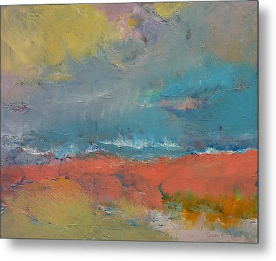 Misty Metal Print by Michael Creese