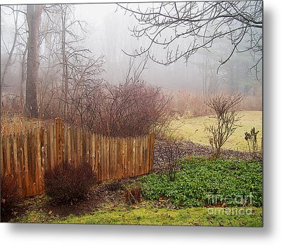 Metal Print featuring the photograph Misty Morn by Betsy Zimmerli