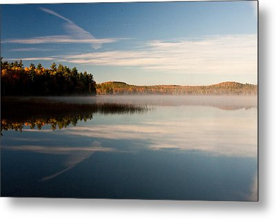 Metal Print featuring the photograph Misty Morning by Brent L Ander