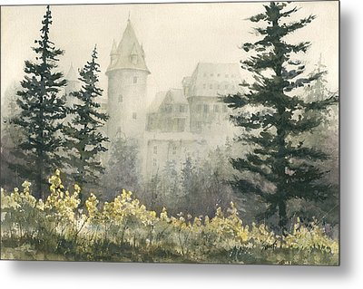 Misty Morning Metal Print by Sam Sidders