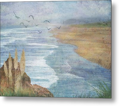 Misty Retreat Metal Print by Christina Lihani
