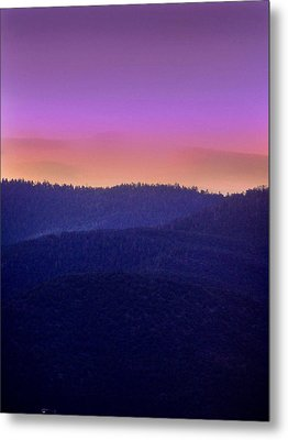 Metal Print featuring the photograph Misty Rockies Sunrise by Rod Seel