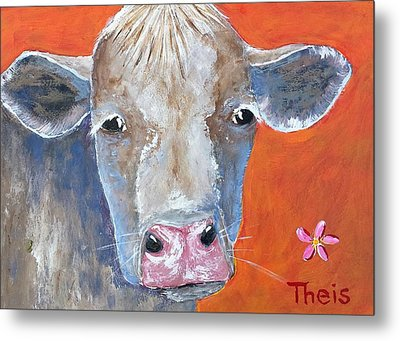 Misty Metal Print by Suzanne Theis
