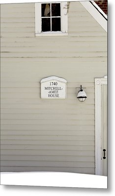 Mitchell-amee House Metal Print