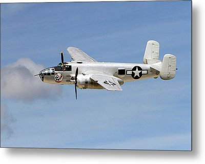 Mitchell In The Sky Metal Print