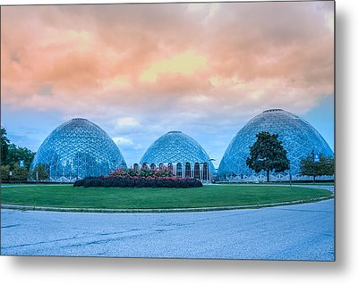 Mitchell Park Conservatory,the Domes Metal Print by Art Spectrum