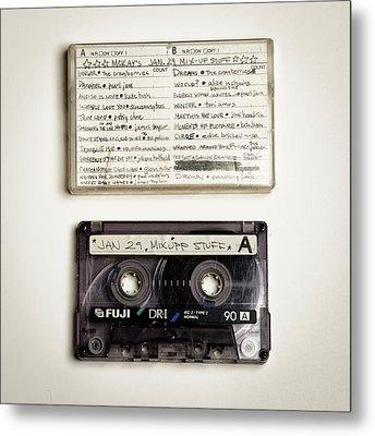 Mix Tape 12 Metal Print by Nathan Larson