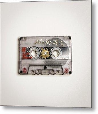 Mix Tape 6 Metal Print by Nathan Larson