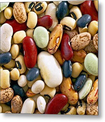 Metal Print featuring the photograph Mixed Beans by Craig B
