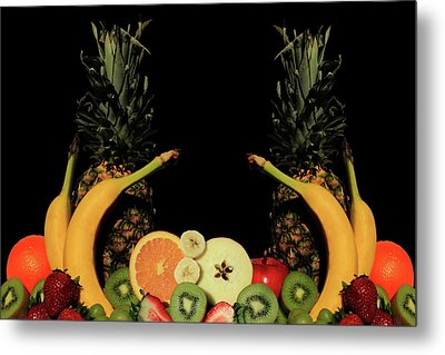 Metal Print featuring the photograph Mixed Fruits by Shane Bechler