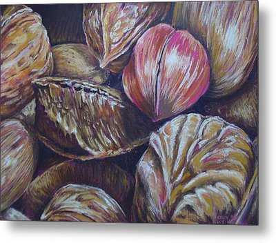 Mixed Nuts Metal Print