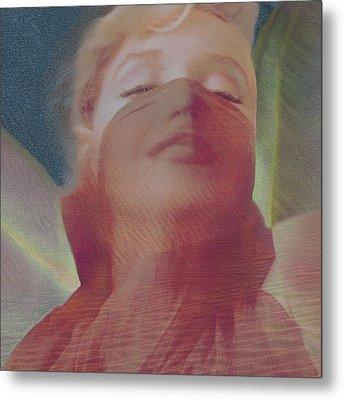 Mmirage Metal Print by Sandy Ostroff