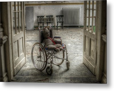 Mobile Teddy  Metal Print by Nathan Wright