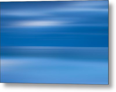 M'ocean 9 Metal Print by Peter Tellone