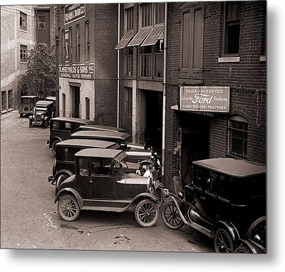 Model Ts, And One More Luxurious Metal Print by Everett