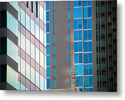 Modern Architecture Photography Metal Print