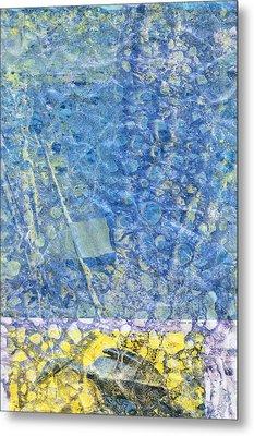 Modern Art - Above And Below - Sharon Cummings Metal Print by Sharon Cummings