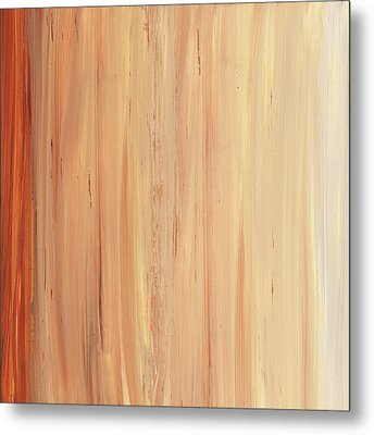 Metal Print featuring the painting Modern Art - The Power Of One Panel 2 - Sharon Cummings by Sharon Cummings