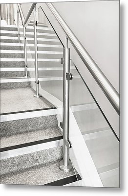 Modern Staircase Metal Print by Tom Gowanlock
