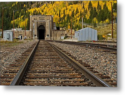 Moffat Tunnel Metal Print by Farol Tomson