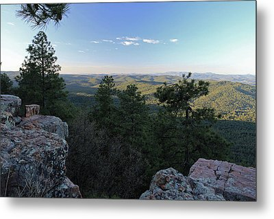 Metal Print featuring the photograph Mogollon Morning by Gary Kaylor