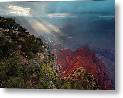 Mohave Point Spotlight Metal Print