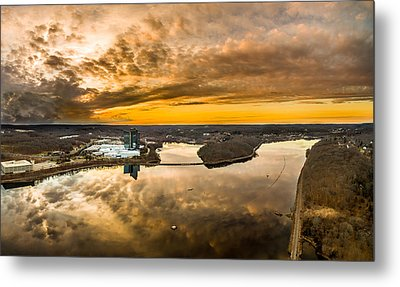 Mohegan Sun Sunset Metal Print by Petr Hejl