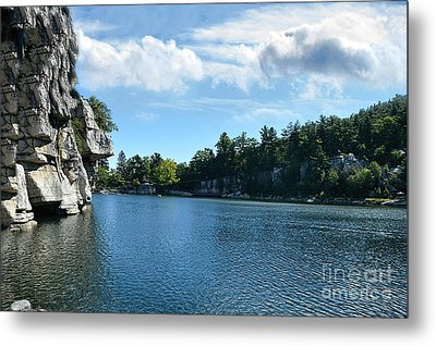Mohonk Lake Metal Print