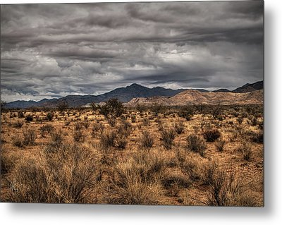 Metal Print featuring the photograph Mojave Landscape 001 by Lance Vaughn