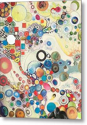 Molecular Geometry Metal Print by Douglas Fromm