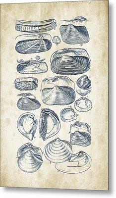 Mollusks - 1842 - 03 Metal Print