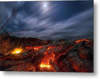 Molten Dream Metal Print