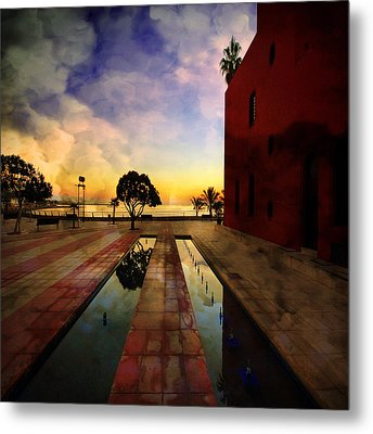 Metal Print featuring the photograph Moment Of Truth by Philippe Sainte-Laudy