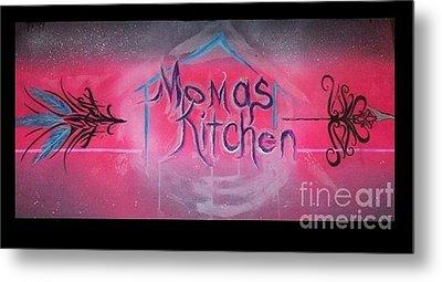 Momma's Kitchen  Metal Print