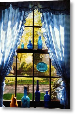 Mom's Kitchen Window Metal Print by John Scates