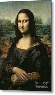 Mona Lisa Metal Print by Leonardo da Vinci