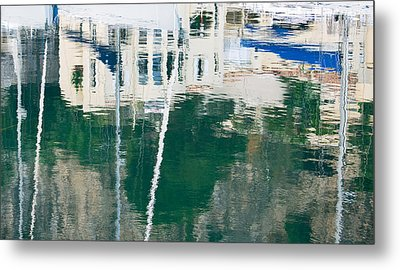 Metal Print featuring the photograph Monaco Reflection by Keith Armstrong
