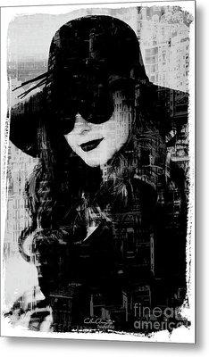 Monaco Woman Metal Print by Chris Armytage