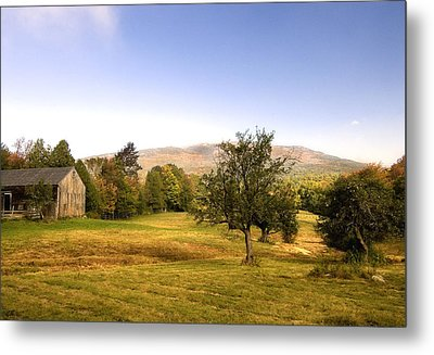 Metal Print featuring the photograph Monadnock Pastoral by Gordon Ripley