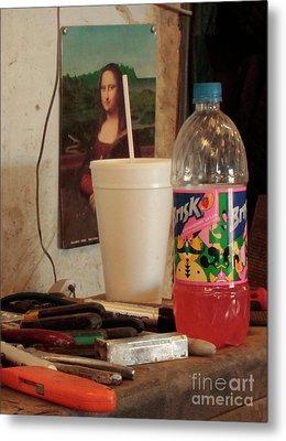 Metal Print featuring the photograph Monas Sodas by Joe Jake Pratt