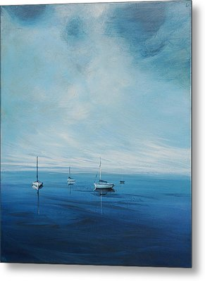 Monday Morning Metal Print by Michele Hollister - for Nancy Asbell
