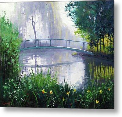 Monet's Garden  Metal Print by Graham Gercken