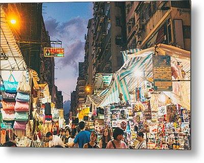 Mongkok Of Hong Kong Metal Print by Tuimages