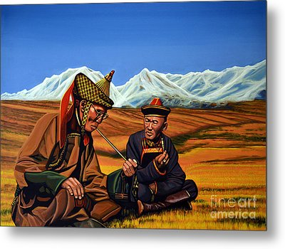 Mongolia Land Of The Eternal Blue Sky Metal Print by Paul Meijering