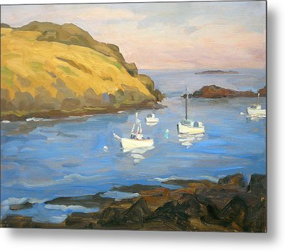 Monhegan Morning Metal Print by Thor Wickstrom