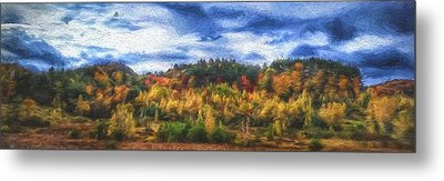 Monkton Ridge, Vt Metal Print