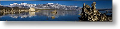 Mono Lake Pano Metal Print by Wes and Dotty Weber