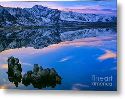 Mono Lake Twilight Metal Print